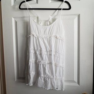 Hollister White Lace Halter Top